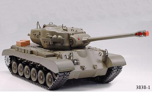 Радиоуправляемый танк «Першинг»  M26 Pershing (Snow Leopard) - Фотография