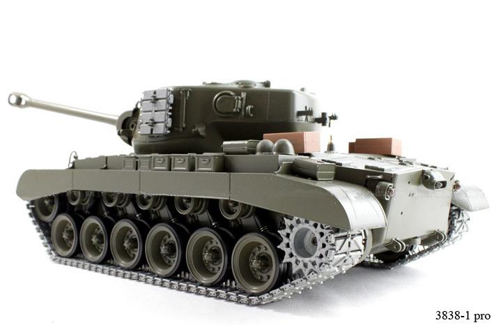 Радиоуправляемый танк «Першинг»  M26 Pershing (Snow Leopard) - В интернет-магазине