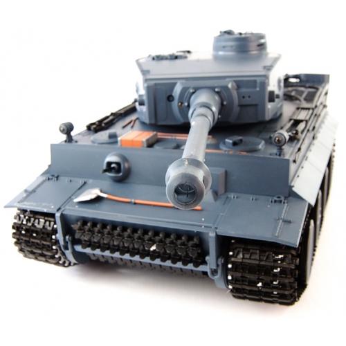 Радиоуправляемый танк «Тигр 1» Tiger-1 с пневмопушкой  (1:16, Tiger-1, с дымом) - Картинка