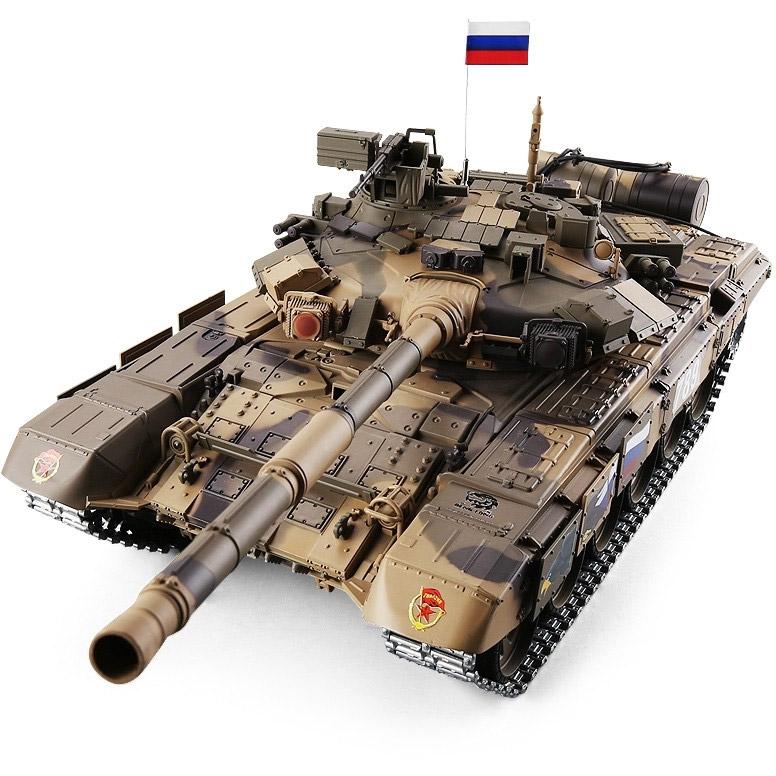 Радиоуправляемый Танк Т-90 (пневмопушка, 2.4GHz, 1:16, 65 см)