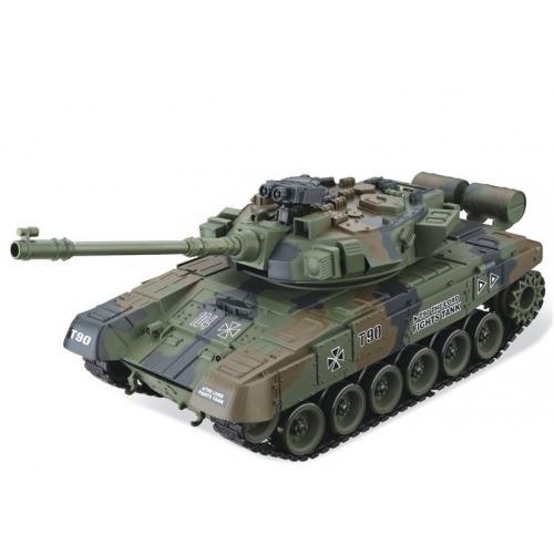 green Радиоуправляемый Танк 1:20 Т-90 «Владимир» (31 см)