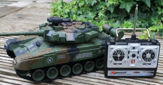 Радиоуправляемый Танк 1:20 Т-90 «Владимир» (31 см) - Фото