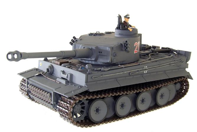 Радиоуправляемый танк Tiger I (пневмопушка)