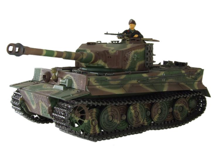 Радиоуправляемый танк Tiger I (пневмопушка) - Фото