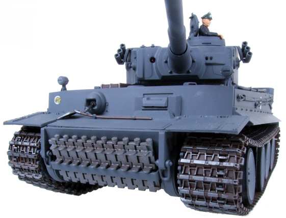 Радиоуправляемый танк Tiger I (пневмопушка) - Фотография