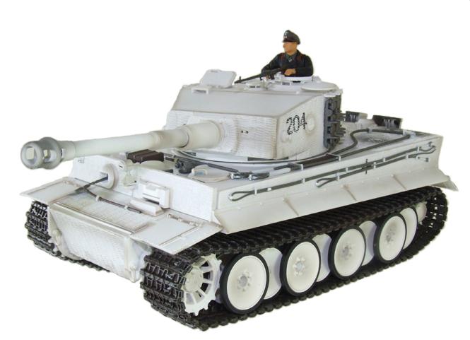 Радиоуправляемый танк Tiger I (пневмопушка) - В интернет-магазине