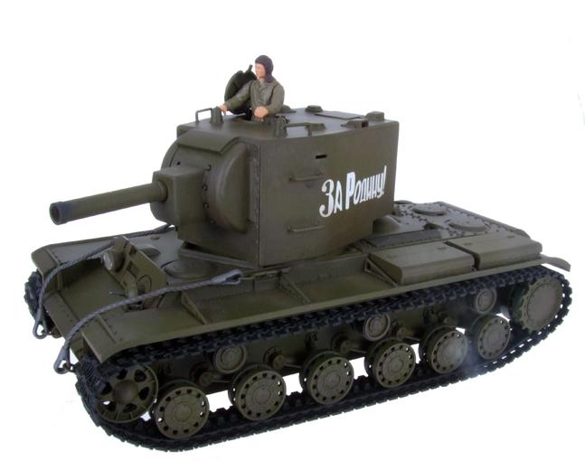 Радиоуправляемый танк КВ-2