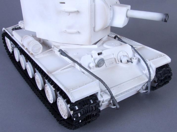Радиоуправляемый танк КВ-2 - Фотография