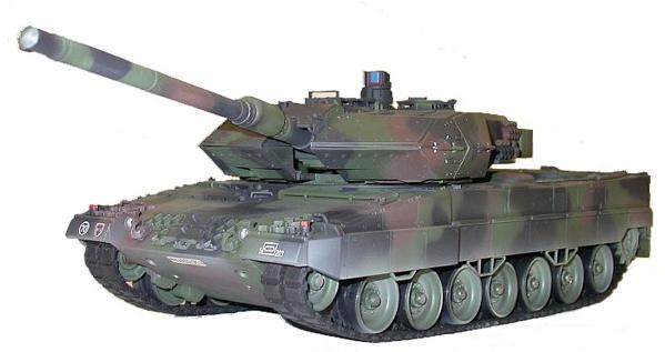 Радиоуправляемый Танк «Леопард 2» Leopard II (пневмо, 1:24, 41 см.)