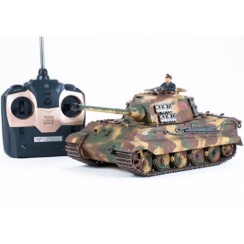 Радиоуправляемый танк «Королевский тигр» King Tiger 2 - Фотография