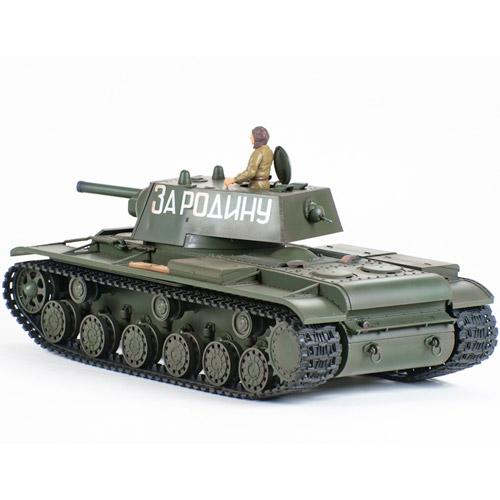 Радиоуправляемый танк КВ-1 - Фото