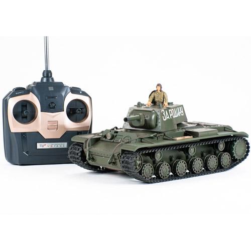 Радиоуправляемый танк КВ-1 - В интернет-магазине