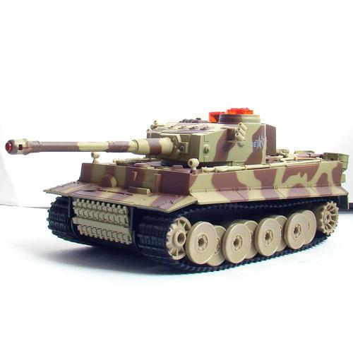 Большой Радиоуправляемый Танковый бой 1:24  Leopard 2A5 vs. Tiger I - В интернет-магазине