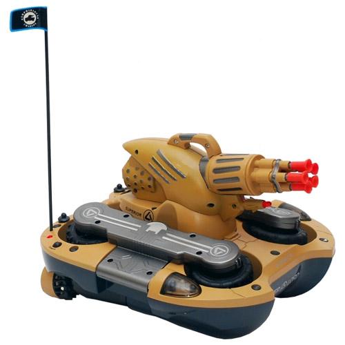 Радиоуправляемый танк-амфибия стреляющий присосками - В интернет-магазине