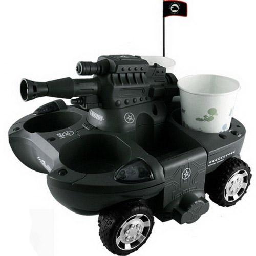 Радиоуправляемый танк-амфибия стреляющий присосками - Фото