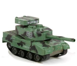 Радиоуправляемый Танк Turbo (пневмо, 1:48, 19 см.)