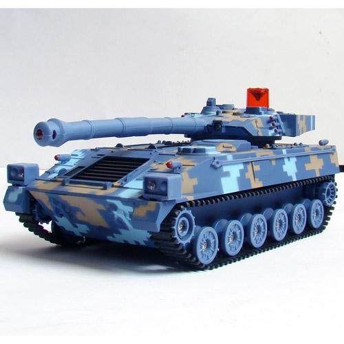 Радиоуправляемый Танковый бой 1:32 Современные танки (2 танка по 22 см) - Фотография