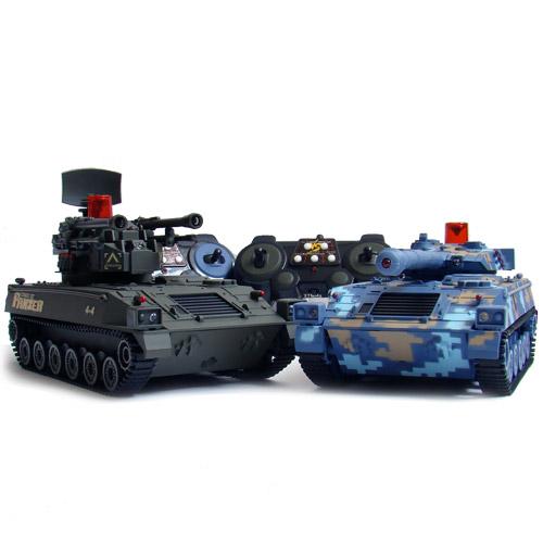 Радиоуправляемый Танковый бой 1:32 Современные танки (2 танка по 22 см)