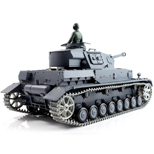 Радиоуправляемый танк PzKpfw IV (с дымом, 1:16, 50 см.)