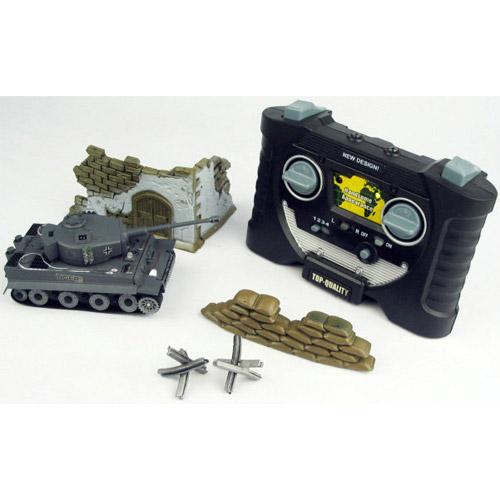 Мини танк для ик боя 1:70 Tiger I - В интернет-магазине