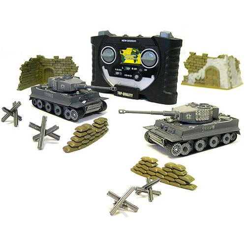 Радиоуправляемый Мини танк для ик боя 1:70 Tiger I