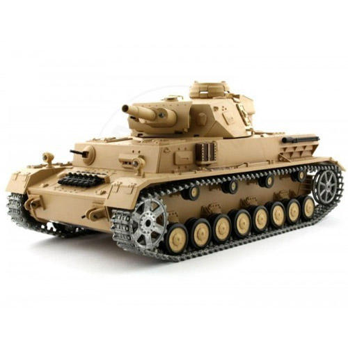 Радиоуправляемый Танк Panzer IV F1 (с дымом, 1:16, 50 см.)