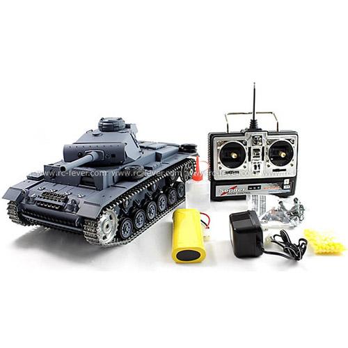 Радиоуправляемый танк PanzerKampfwagen III (с дымом, 1:16, 50 см.)