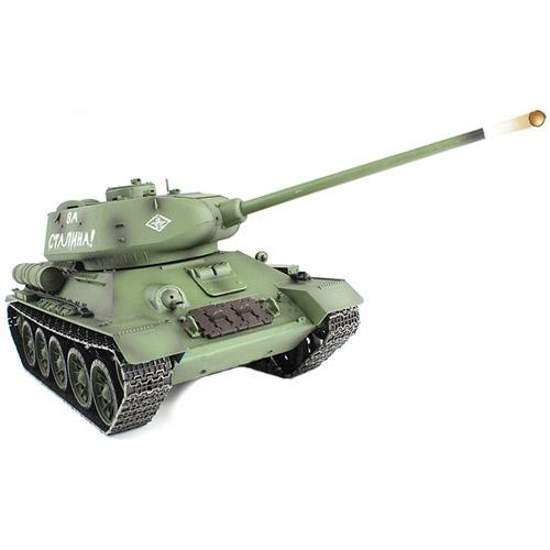 Радиоуправляемый танк Т-34 «Тридцатьчетвёрка» (1:16, 2,4GHz) - В интернет-магазине