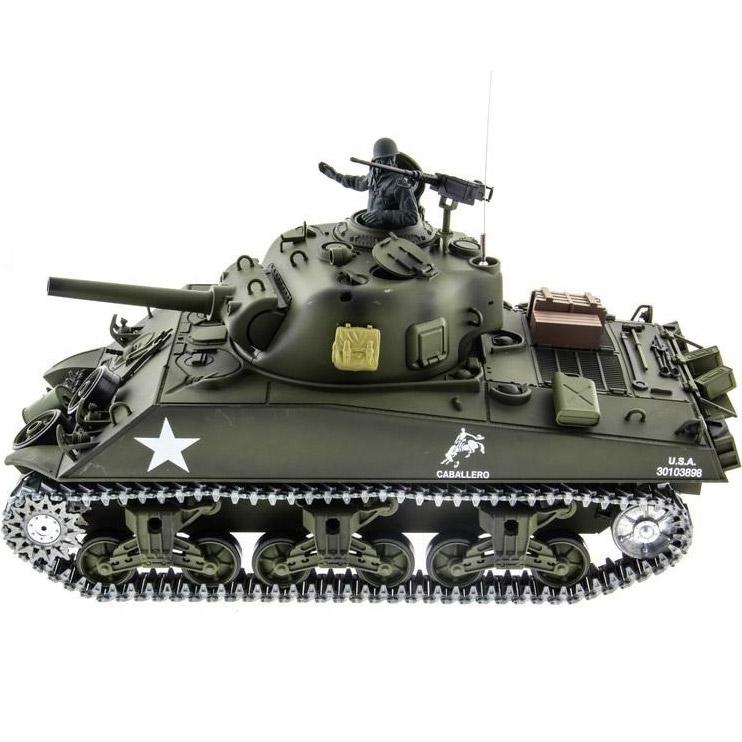 Радиоуправляемый Танк U.S. M4A3 Sherman (пневмопушка, 1:16, 52 см.) - В интернет-магазине