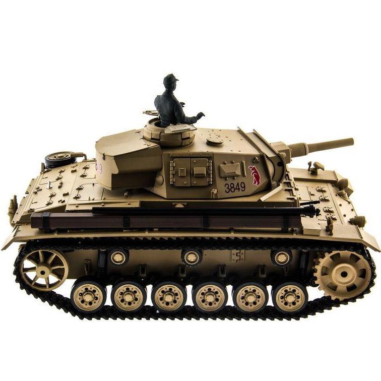 Радиоуправляемый Танк Panzer III с пневмопушкой (1:16, 54 см.) - Фотография