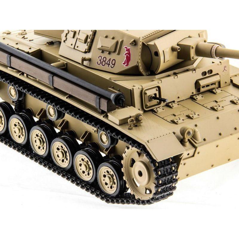 Радиоуправляемый Танк Panzer III с пневмопушкой (1:16, 54 см.) - Изображение