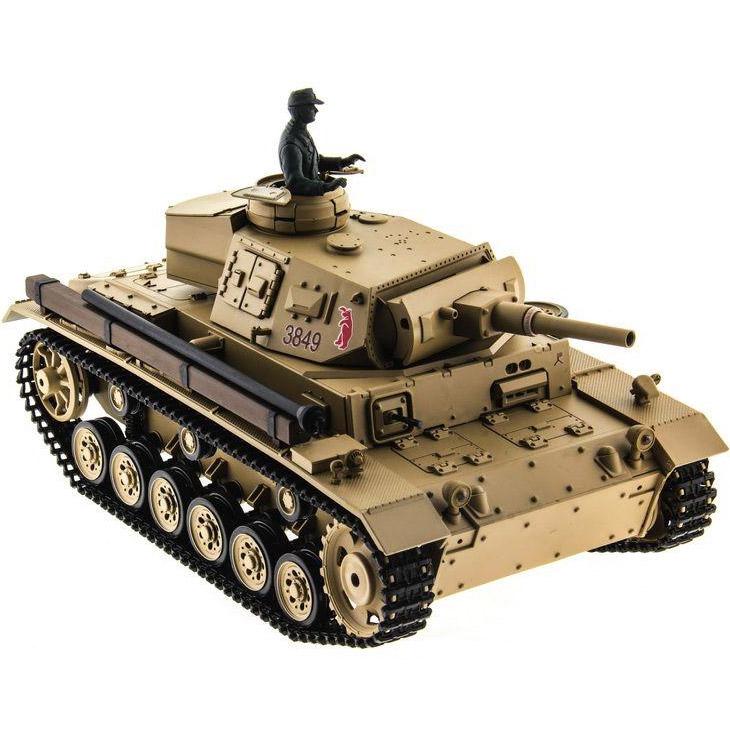 Радиоуправляемый Танк Panzer III с пневмопушкой (1:16, 54 см.)