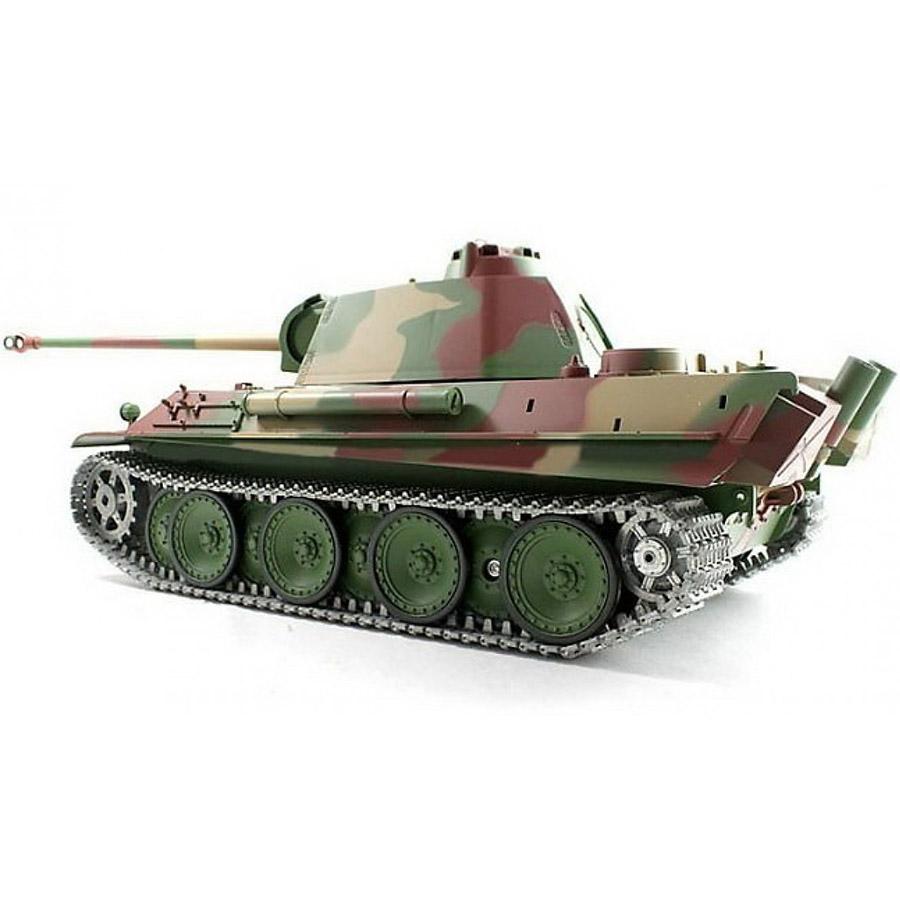 Радиоуправляемый Танк «Пантера» PzKpfw V Panther (пневмопушка, 1:16, 54 см.) - Изображение