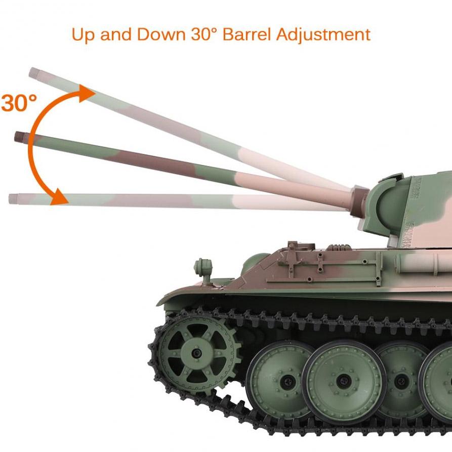 Радиоуправляемый Танк «Пантера» PzKpfw V Panther (пневмопушка, 1:16, 54 см.) - В интернет-магазине