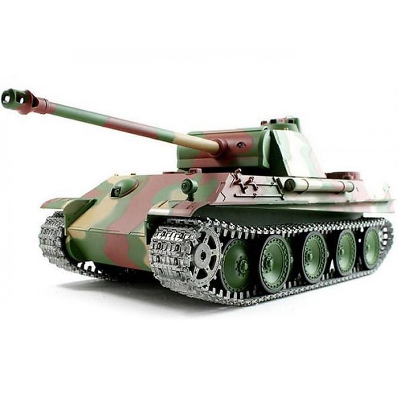 Радиоуправляемый Танк «Пантера» PzKpfw V Panther (пневмопушка, 1:16, 54 см.)