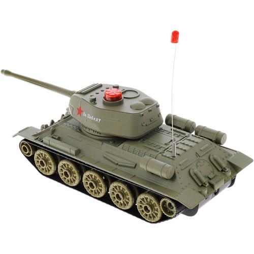 Радиоуправляемый Танковый бой 1:32 Т-34 vs. Tiger I (22 см, 2.4Ghz) - В интернет-магазине