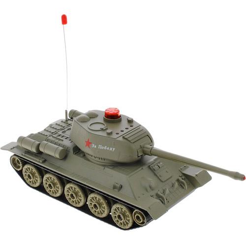 Радиоуправляемый Танковый бой 1:32 Т-34 vs. Tiger I (22 см, 2.4Ghz) - Фото