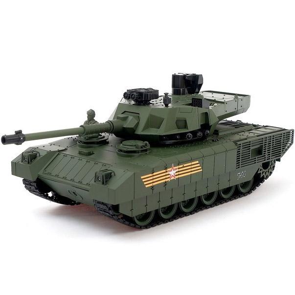 Радиоуправляемый Танк Армата Т-14 (пневмопушка, 1:20, 36 см)