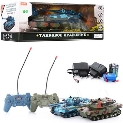 Радиоуправляемый Танковый бой 1:32 Т-90 vs. Leopard (20 см) - В интернет-магазине