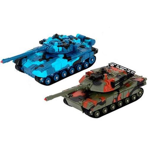 Радиоуправляемый Танковый бой 1:32 Т-90 vs. Leopard (20 см)