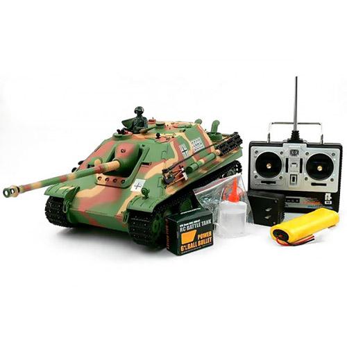 Радиоуправляемый танк САУ Jagdpanther (с дымом, 1:16, 50 см.)