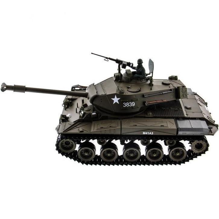 Радиоуправляемый Танк M41 Walker Bulldog (пневмопушка, 1:16, 52 см.) - Фото