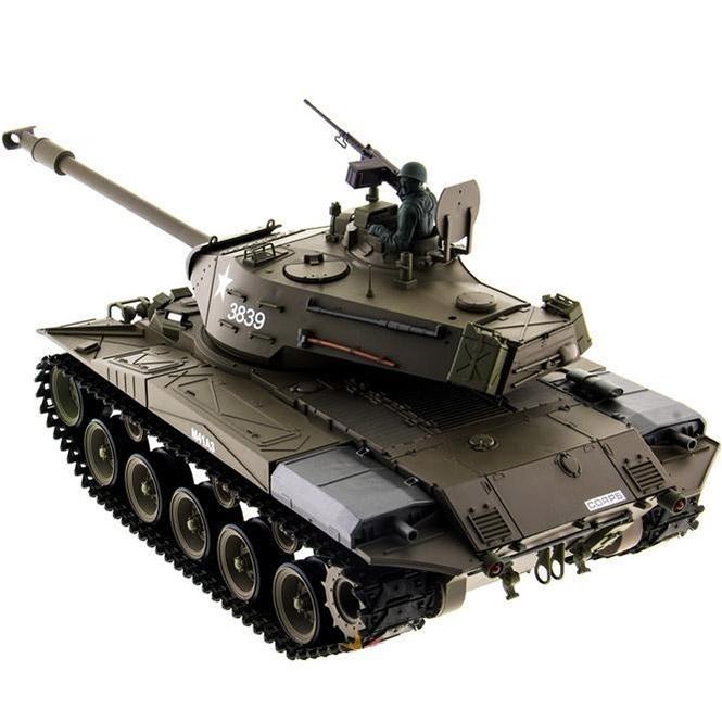 Радиоуправляемый Танк M41 Walker Bulldog (пневмопушка, 1:16, 52 см.) - Фотография