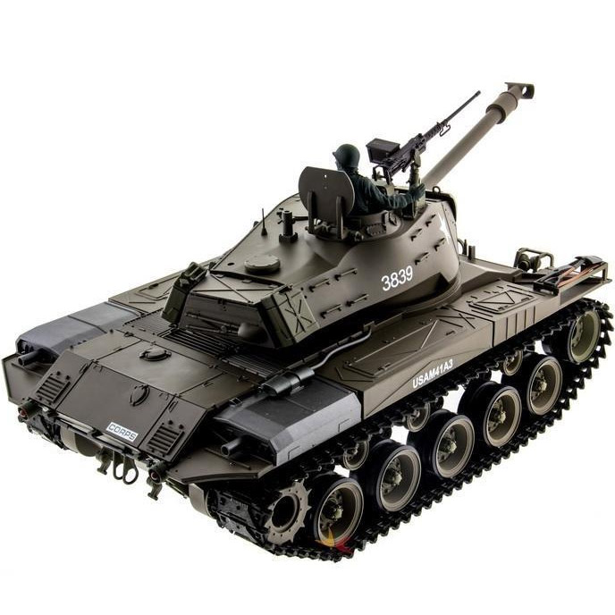 Радиоуправляемый Танк M41 Walker Bulldog (пневмопушка, 1:16, 52 см.) - Картинка
