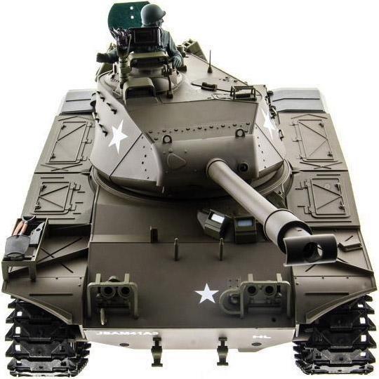 Радиоуправляемый Танк M41 Walker Bulldog (пневмопушка, 1:16, 52 см.) - Изображение