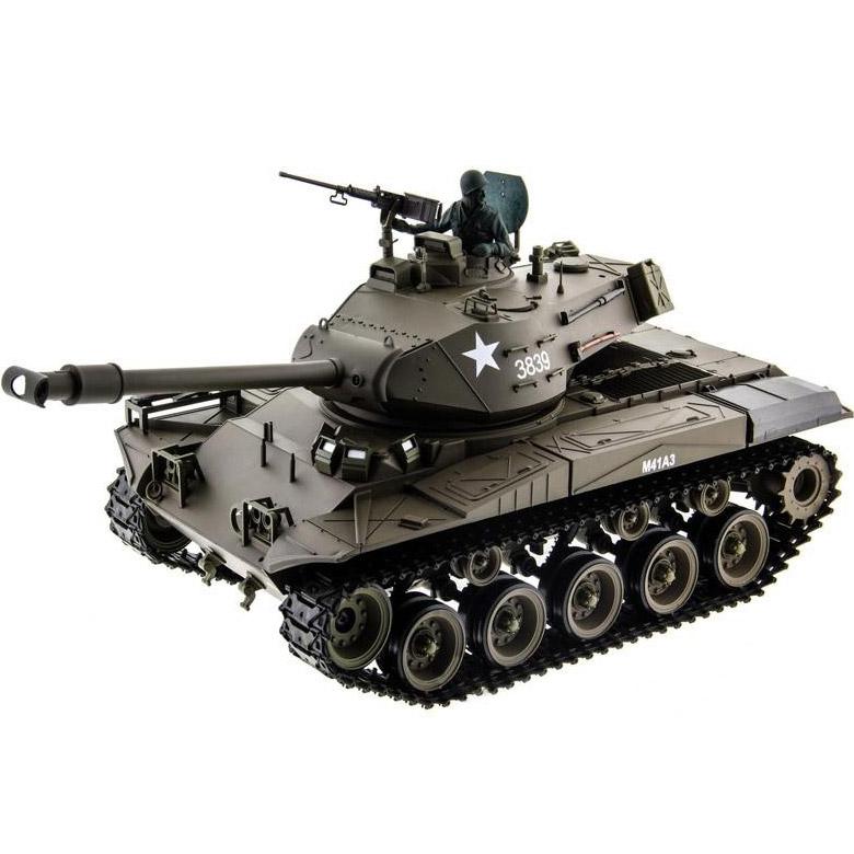 Радиоуправляемый Танк M41 Walker Bulldog (пневмопушка, 1:16, 52 см.)
