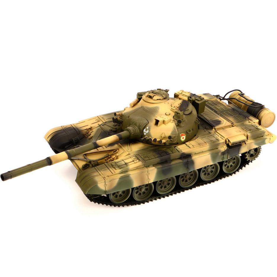 Радиоуправляемый Танк Т-72 М1 (пневмопушка, 1:24, 42 см.) - Фото