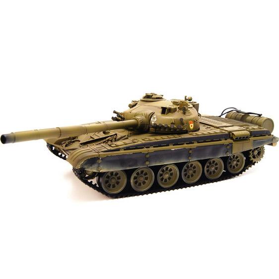 Зеленый Радиоуправляемый Танк Т-72 М1 (пневмопушка, 1:24, 42 см.)
