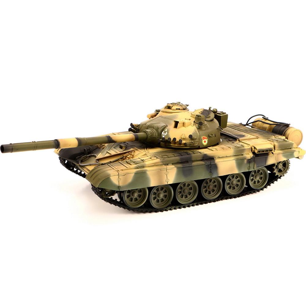 Камуфляж Радиоуправляемый Танк Т-72 М1 (пневмопушка, 1:24, 42 см.)