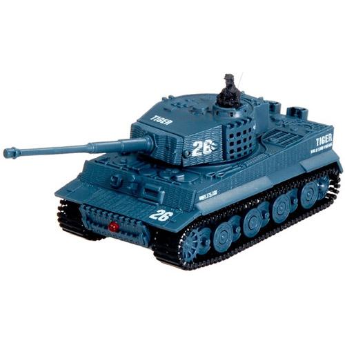 Синий Радиоуправляемый Мини-танк Tiger I (9 см)